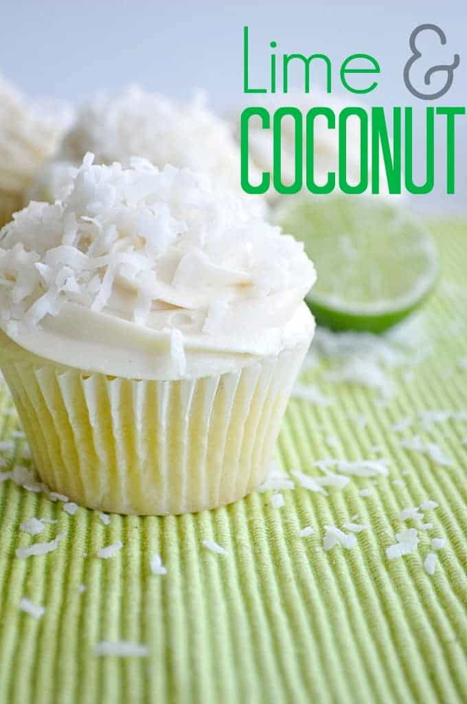 Incredibly moist lime flavored cake, filled with a chewy coconut ...