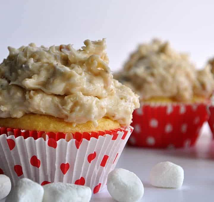Samoa Rice Krispie Treat Frosting
