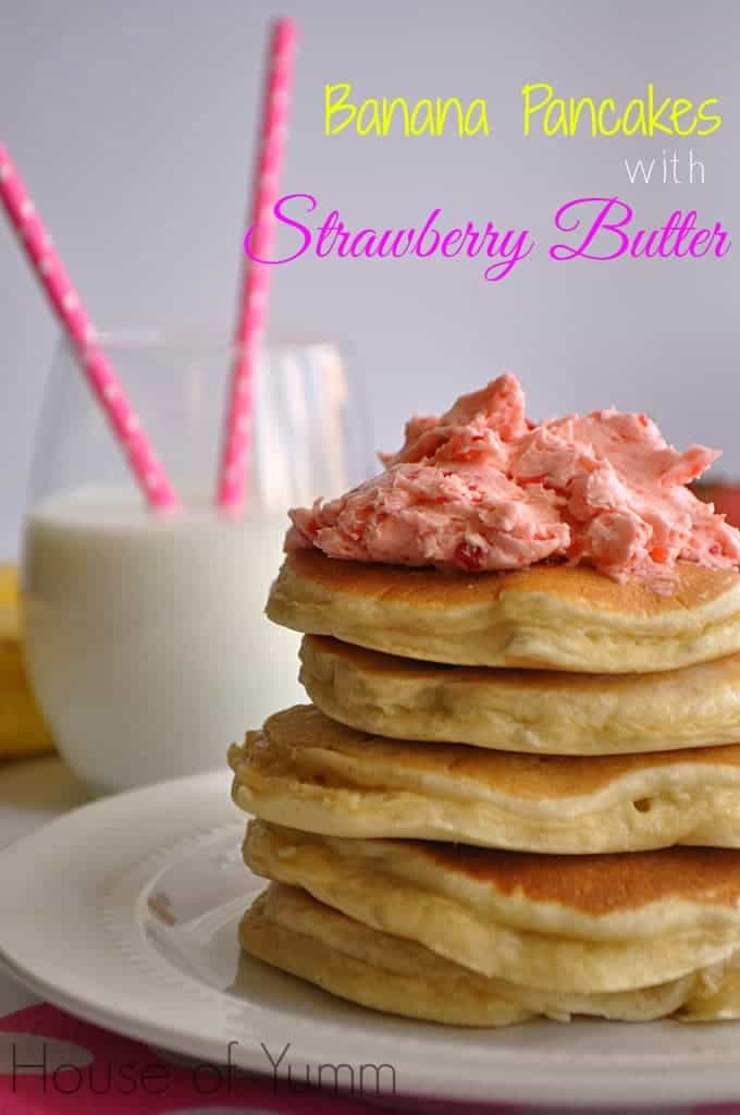 how to make strawberry bannana pancakes Mash remaining banana in medium bowl whisk in eggs, sugar, and milk whisk in baking mix until blended pour about 1/4 cup batter for each pancake onto a hot griddle coated with cooking spray.