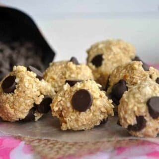 Skinny Cookie Dough Bites