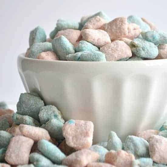 Cotton Candy Muddy Buddies