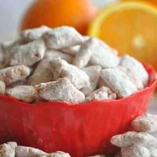 Orange Creamsicle Muddy Buddies