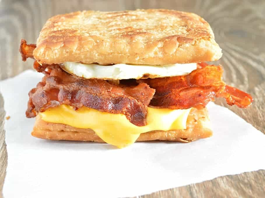 Image result for EGG AND BACON SANDWICH