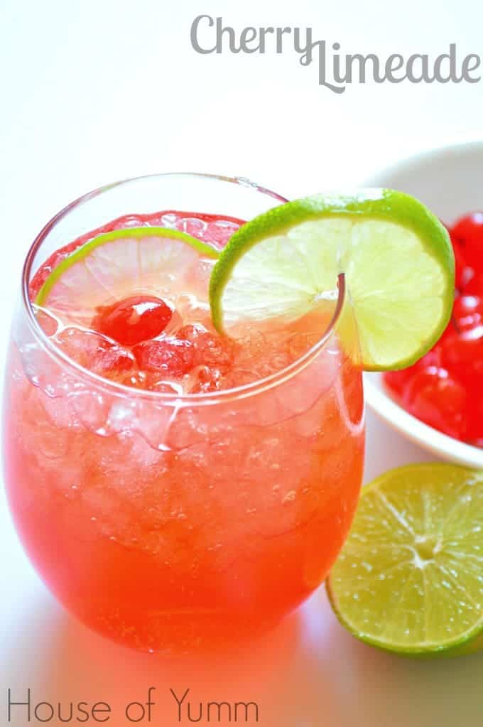 Cherry Limeade - House of Yumm