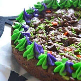 Chocolate Fudge Cookie Cake