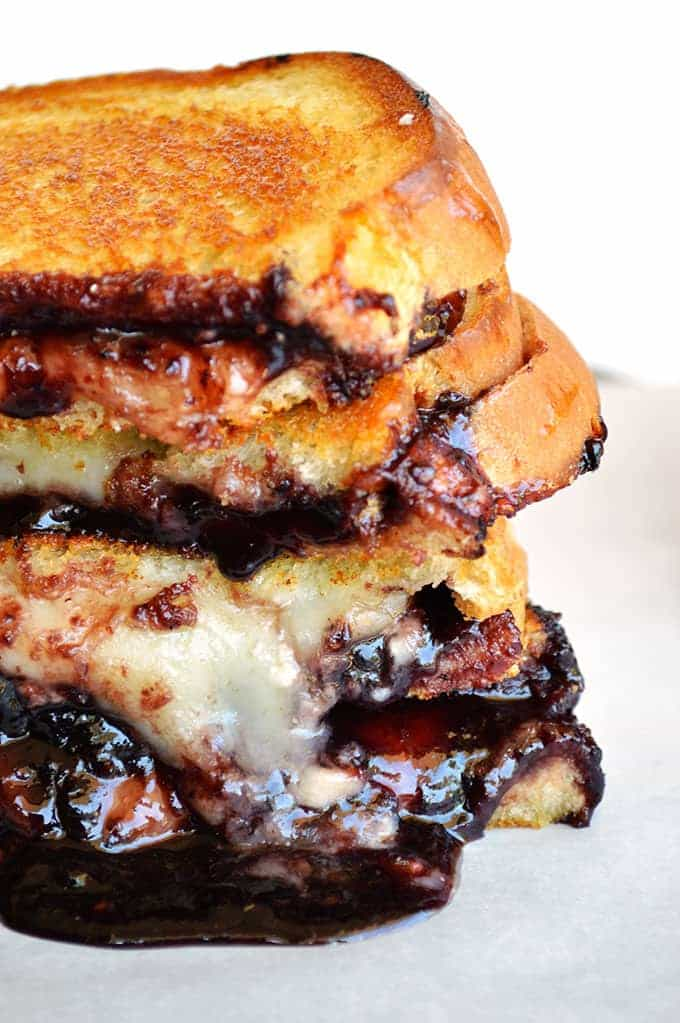 Sriracha Jam Grilled Cheese | House of Yumm