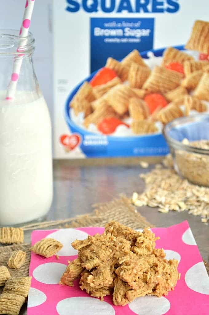 No Bake} Quaker®Oatmeal Squares Breakfast Cookies - House of