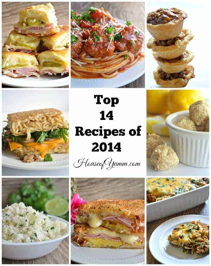 Top Recipes 2014 from House of Yumm