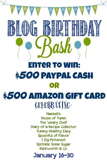 Blog Birthday Bash