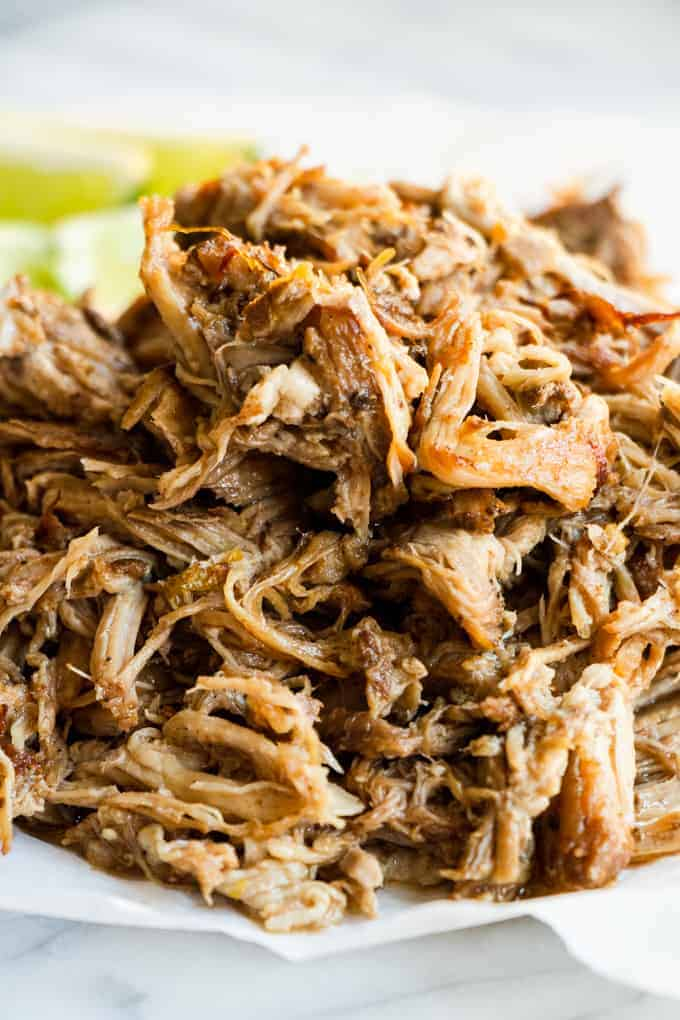 Slow Cooker Pork Carnitas Perfect For Tacos House Of Yumm