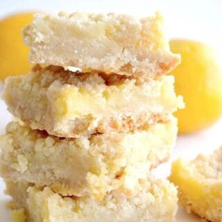 Lemon Crumble Bars