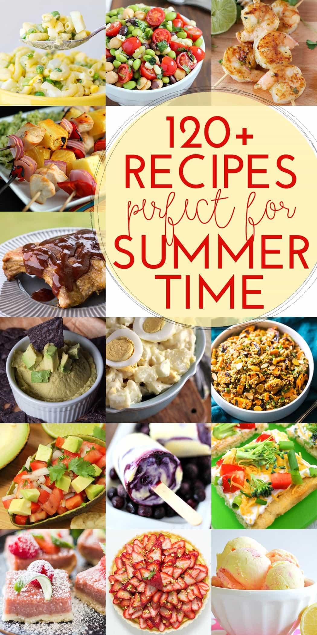 120+ Recipes for Summer BBQs!