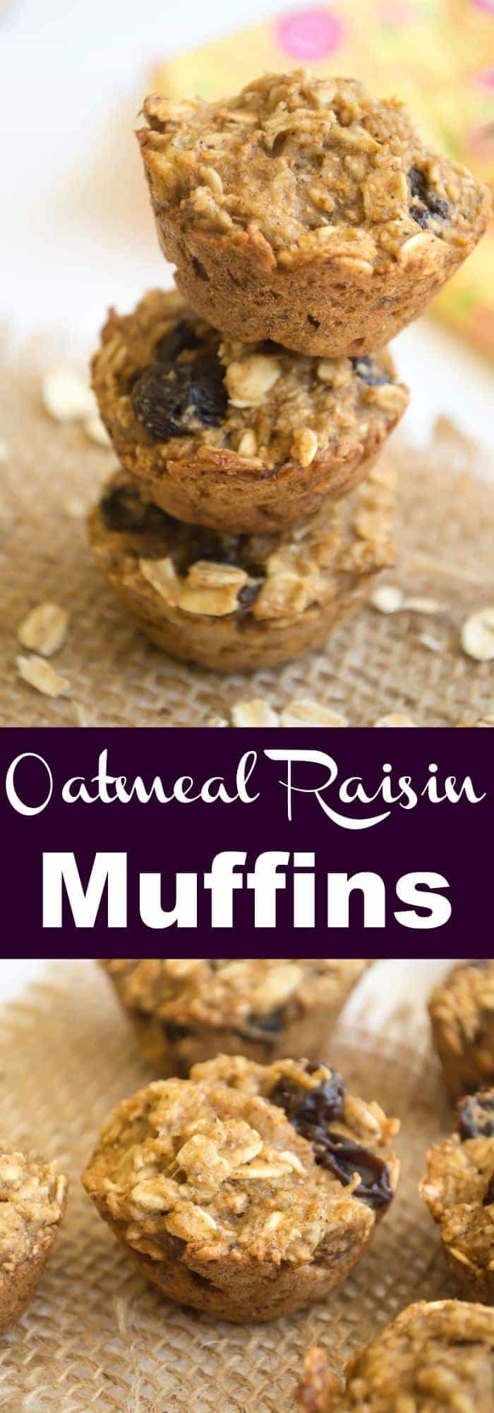oatmeal raisin cookies muffin tops oatmeal raisin cookie muffins ...