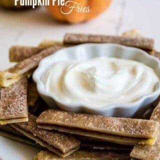 Pumpkin Pie Fries