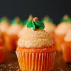 Pumpkin Cupcakes by The Gunny Sack.