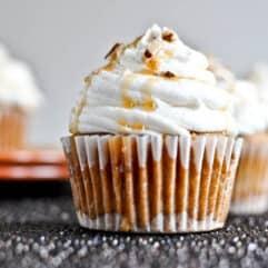 Sweet Potato Pie Cupcake