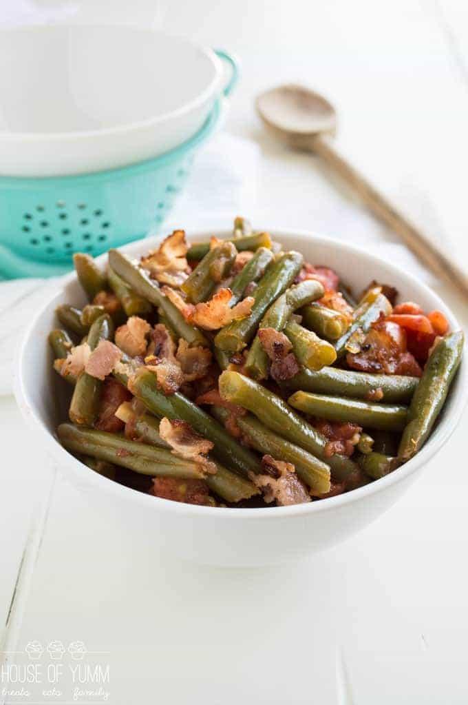 Green Bean Recipe. A gluten free side dish. Perfect Holiday recipe!