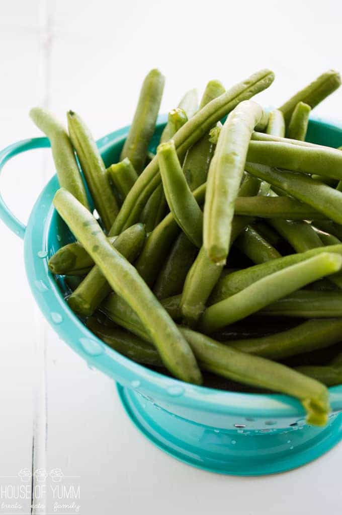 Green Bean Recipe. A gluten free side dish. Perfect Holiday recipe!