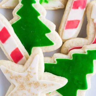 Easy Iced Sugar Cookies