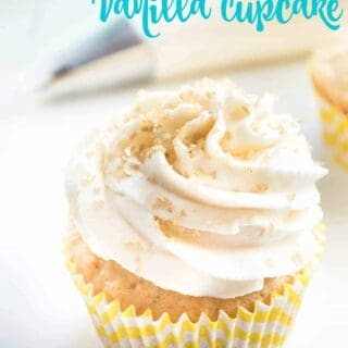 The Perfect Vanilla Cupcake