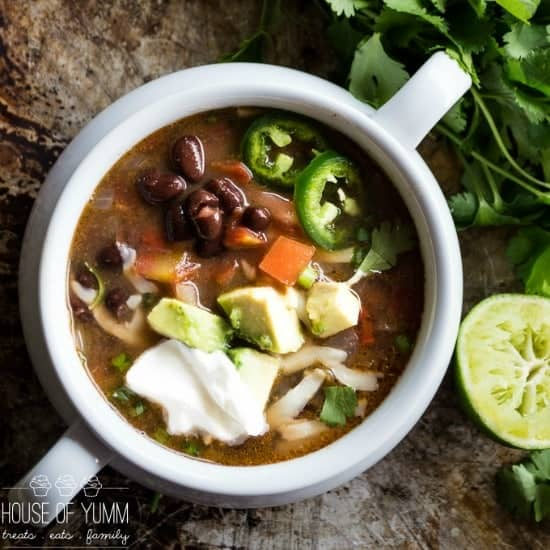 Black Bean Soup! A 30 minute dinner idea! Quick, easy recipe ...