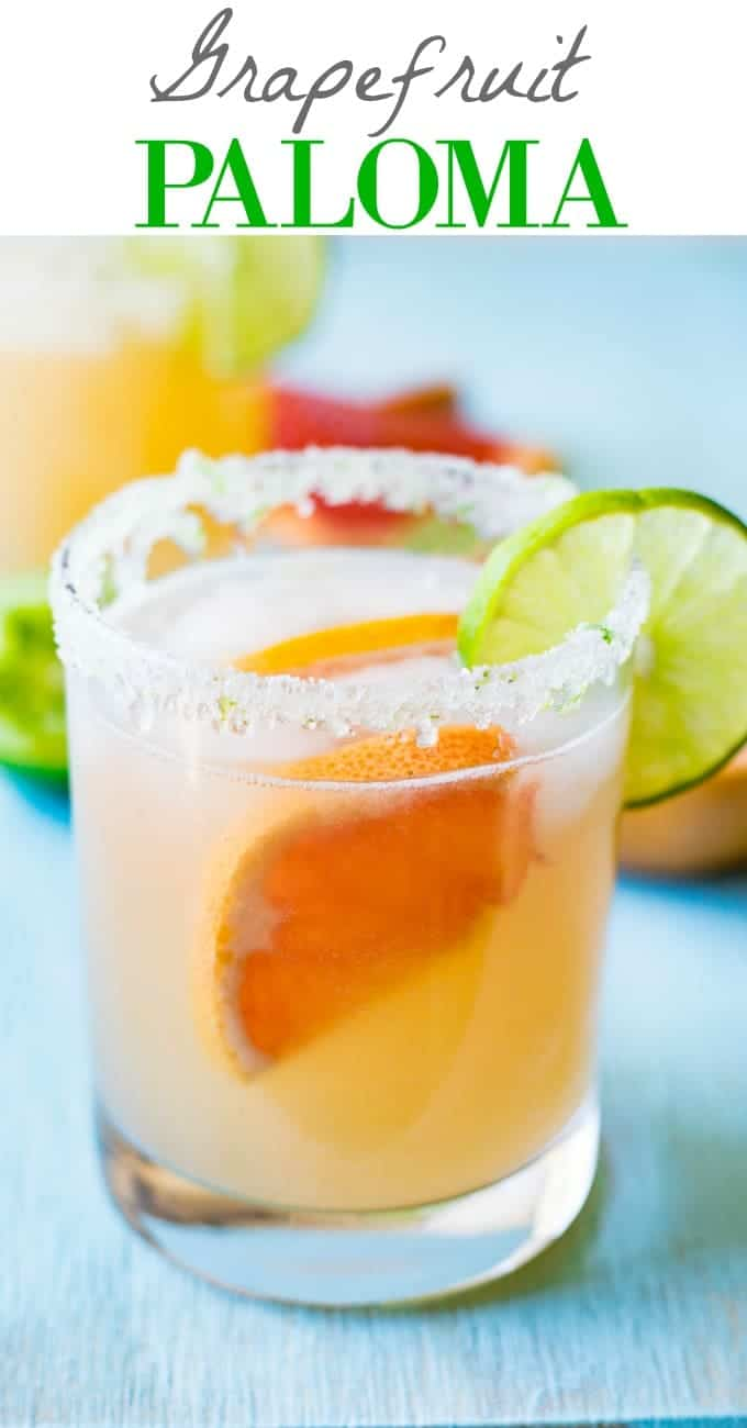 Grapefruit Paloma - House of Yumm