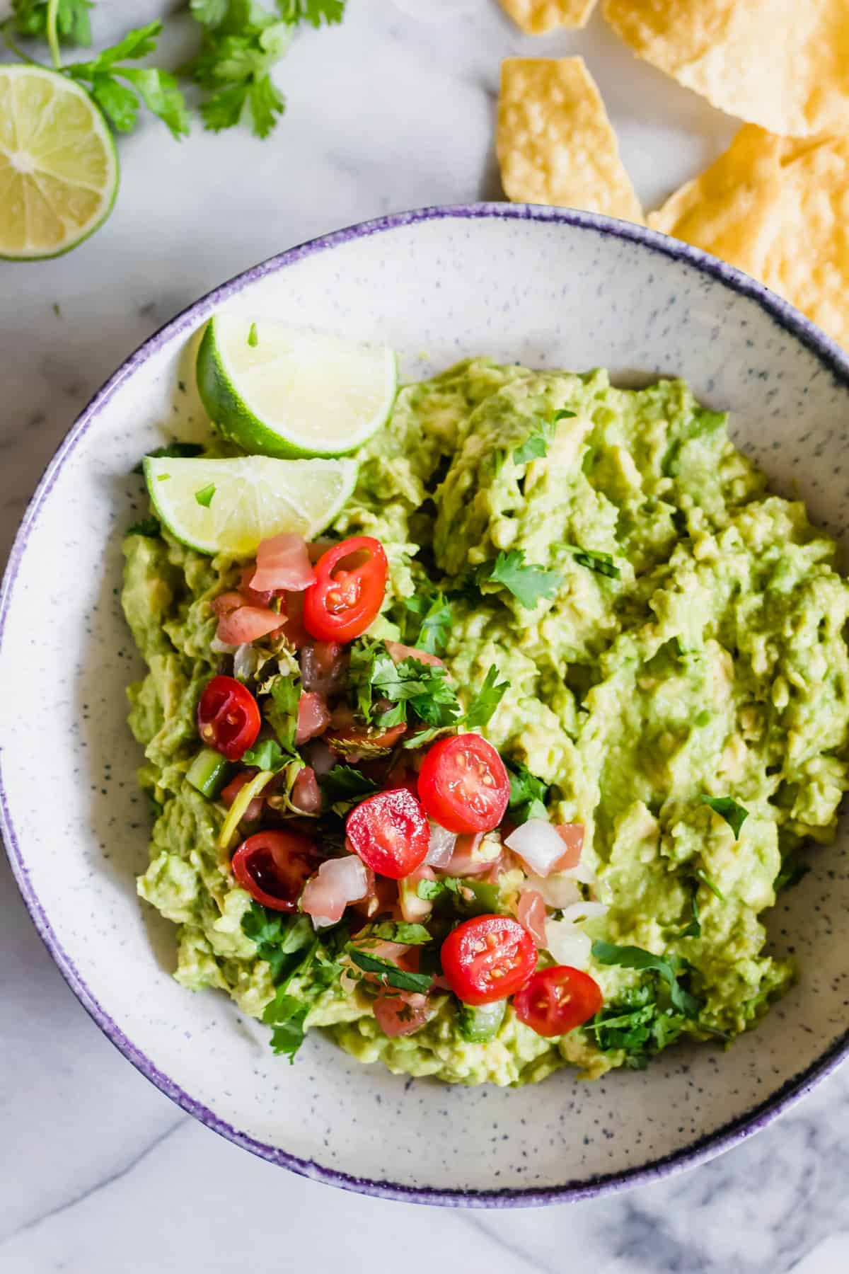 homemade guacamole recipe the best easy guacamole house of yumm 30798