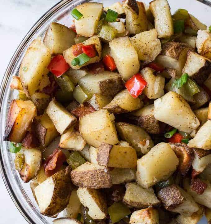Southwestern Breakfast Potatoes