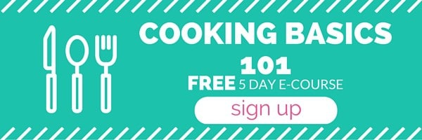 Master the Cooking Basics needed to tackle any recipe! Feel more confident in the kitchen! Save time, money and eat a little healthier by cooking at home.