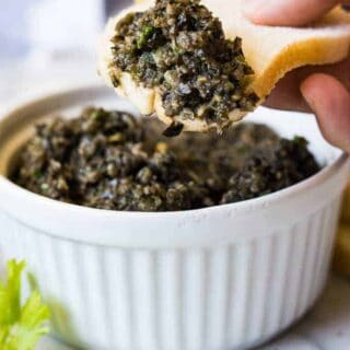 Spicy Black Olive Tapenade