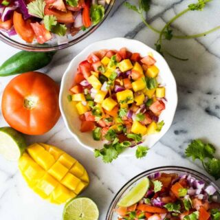 How To Make Pico de Gallo (3 Ways)