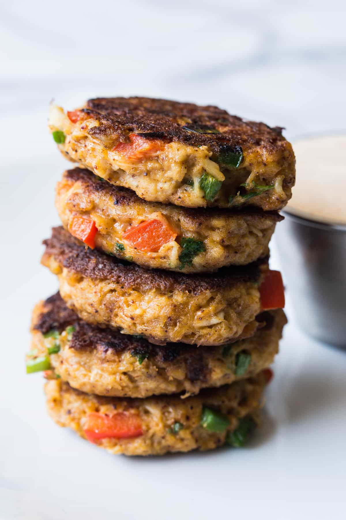 Crab Cakes With Tapenade