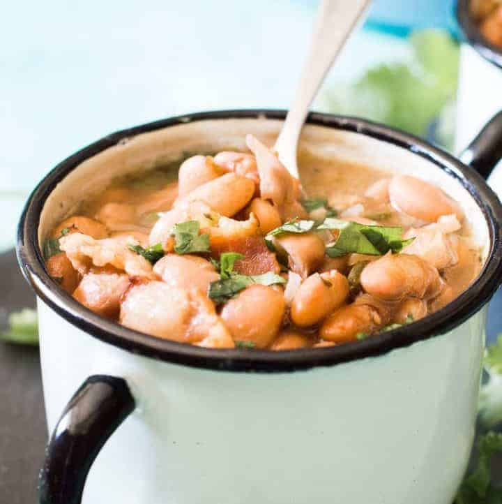 {Slow Cooker} Charro Beans