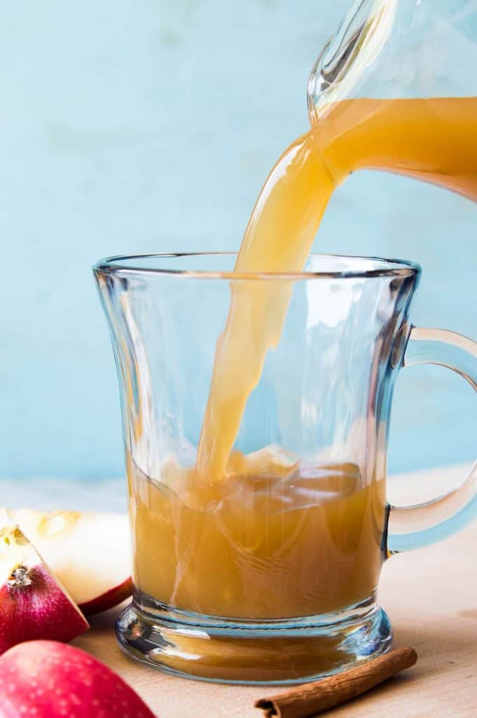 Slow Cooker Pumpkin Spice Apple Cider. Enjoy all the flavors of fall with this pumpkin spice infused apple cider made using REAL apples!