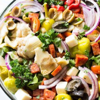 Antipasto Salad (with Red Wine Vinaigrette)