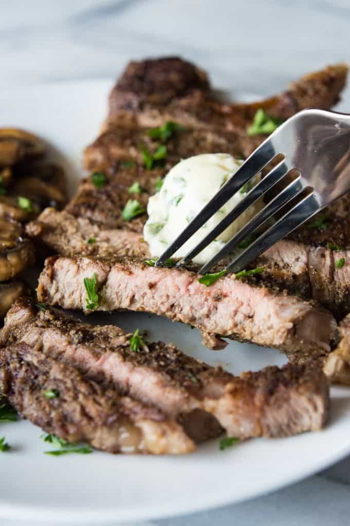 It's really quick, it's super easy, and the steak comes out juicy ...