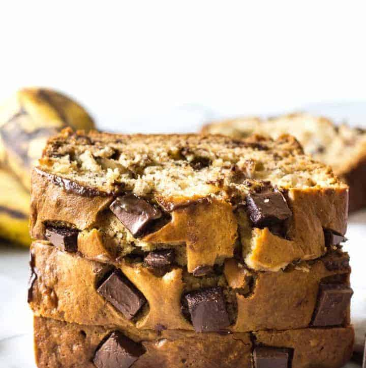 Chunky Monkey Banana Bread (and Recipe Video!)