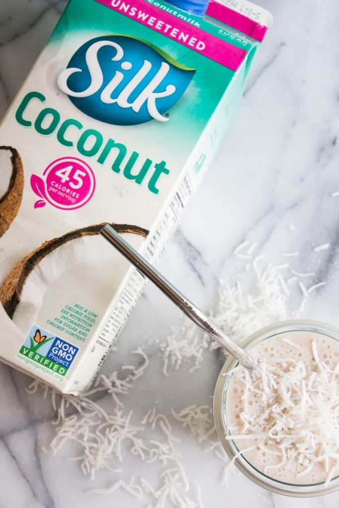 Coconut Smoothie. This smoothie is loaded with coconut flavor! Made with coconut milk and other natural ingredients, this is guaranteed the best way to start the day!