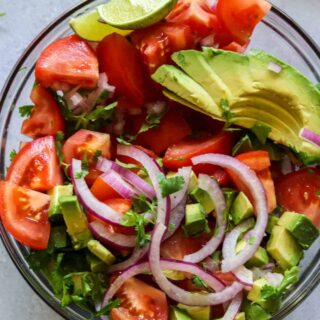 Tomato Avocado and Cilantro Salad (and Recipe Video!)