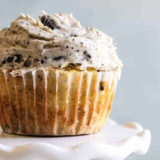 Loaded Cookies and Cream Cupcakes