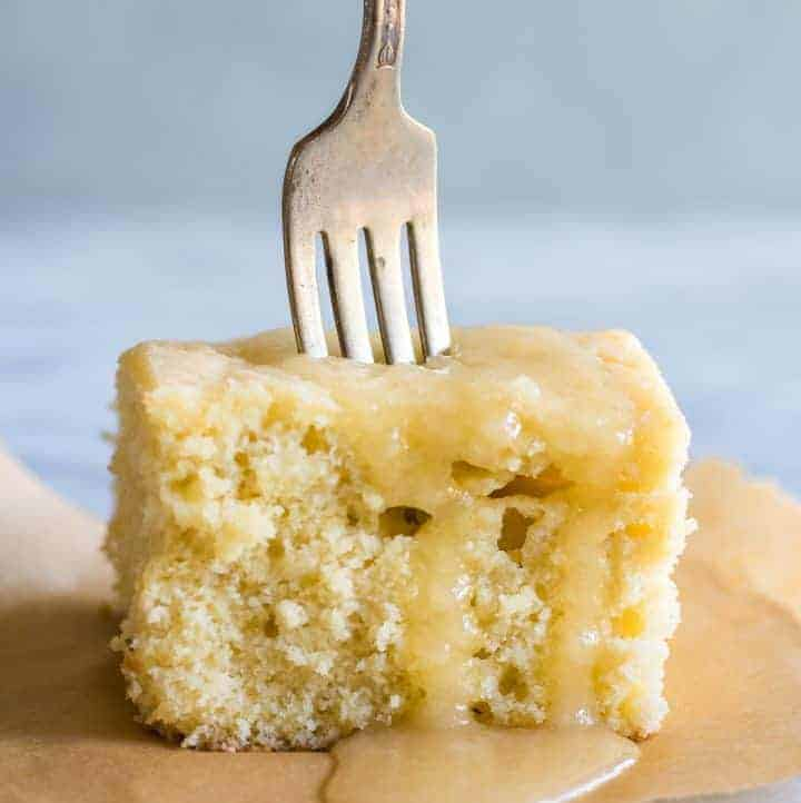 Butter Rum Sheet Cake