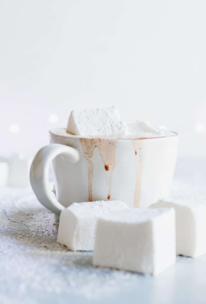 Homemade Hot Chocolate. Warm up with this easy to put together creamy, silky, hot chocolate. Customize with your favorite additions for a personalized treat!