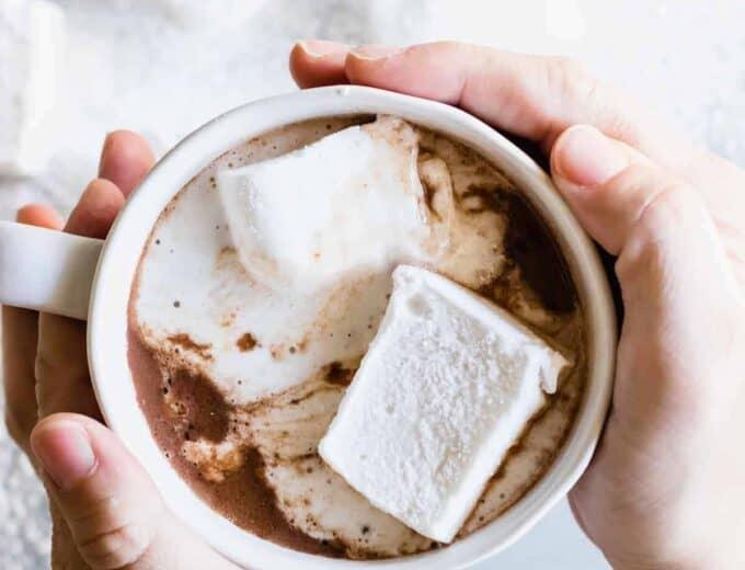 Homemade Hot Chocolate - House of Yumm