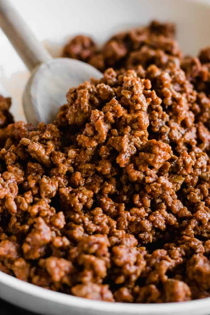 Homemade Ground Beef Taco Meat.