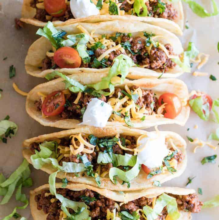 Classic Ground Beef Tacos
