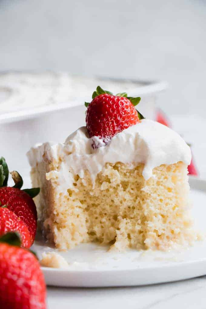 Tres Leches Cake House Of Yumm