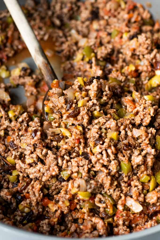 Cuban picadillo - quick and easy dinner recipes