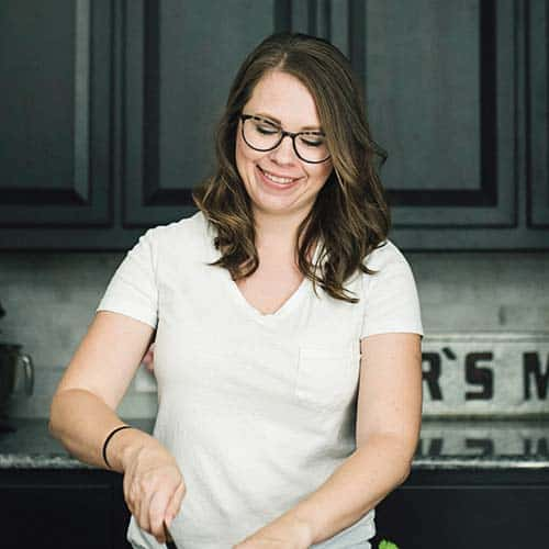 Headshot of Serene Herrera cooking.